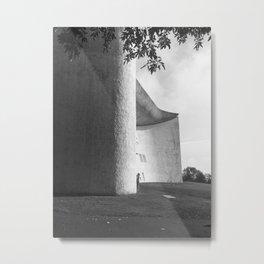 Ronchamp Chapel 002 Metal Print