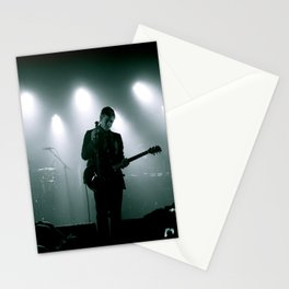 Paul Banks / Interpol at Terminal 5 New York City B&W Stationery Cards