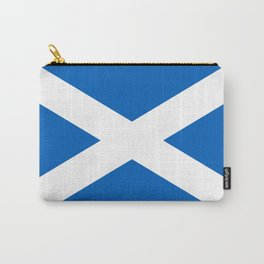 National flag of Scotland - Authentic version to scale and color Carry-All Pouch