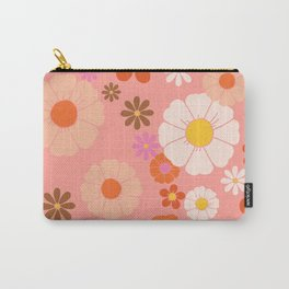 Groovy 60's Mod Flower Power Carry-All Pouch