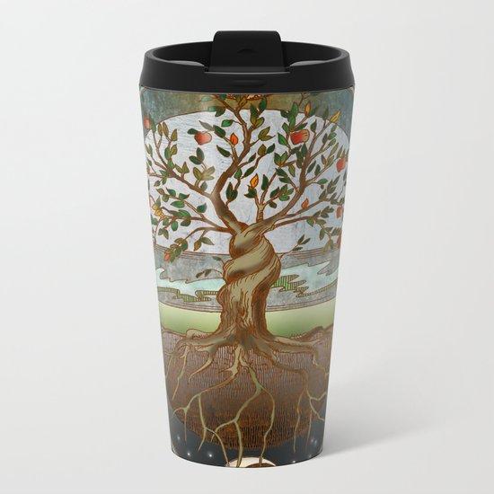 Ouroboros Metal Travel Mug