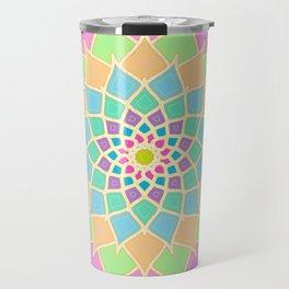 Pastel Lotus Travel Mug