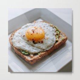 Breakfast Eggs Metal Print