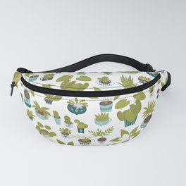 Urban Jungle Potted Plants Fanny Pack