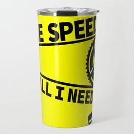 Single Speed Bike Travel Mug