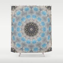 SNOWFLAKES - II Shower Curtain