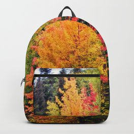 Deep in the Forest (Fall Colors) Backpack