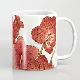Red Orchids Coffee Mug