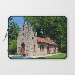 Lourdes University-  Portiuncula  Chapel in the Spring IV Laptop Sleeve