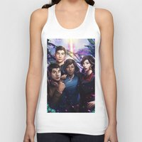 the legend of korra Tank Tops featuring The Legend Of Korra by Meder Taab