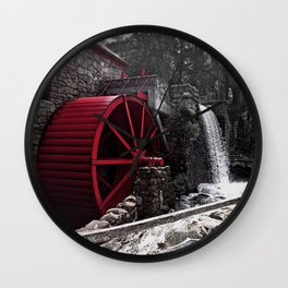 Old Grist Mill Wall Clock