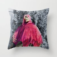 scary Throw Pillows featuring Scary! by IowaShots