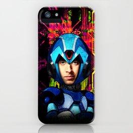 Megaman wolowitz iPhone Case