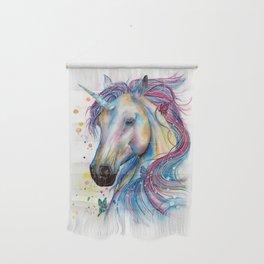 Whimsical Unicorn Wall Hanging