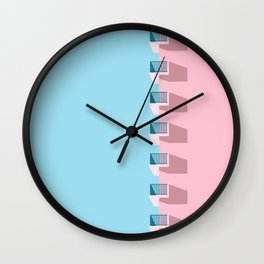 cool. calm. collected. Wall Clock