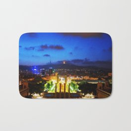 Barcelona. Montjuik Bath Mat