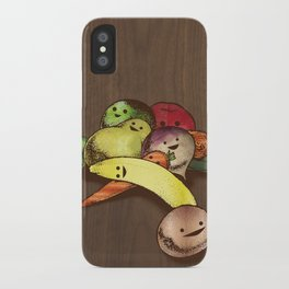 Fruit With Faces iPhone Case