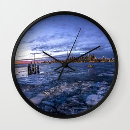 Toronto Ice Wall Clock
