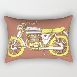 Vintage Motorcycle Gems III Rectangular Pillow