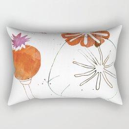 Seeds and Pods Rectangular Pillow