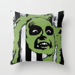 The Gost with the Most Throw Pillow