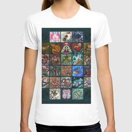 The Unusual Animal Alphabet T-shirt