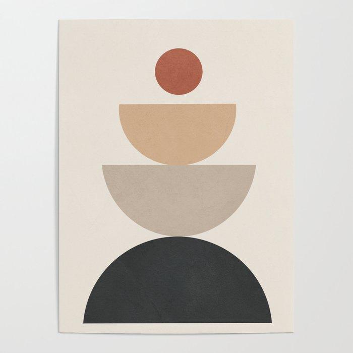 Geometric Modern Art 31 Poster