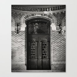 Thru The Doors Of Time Canvas Print