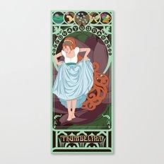 Thumbelina Nouveau - Thumbelina Canvas Print