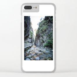 Quiet erosion Clear iPhone Case