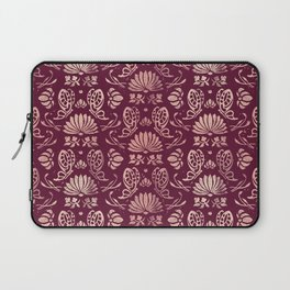 Classic Floral Pattern Laptop Sleeve