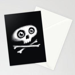 Skull & bones Stationery Cards