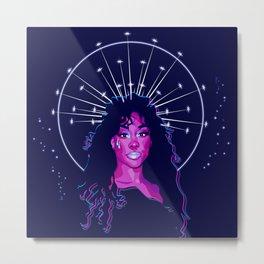 SZA High Priestess Metal Print