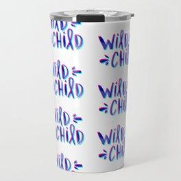 Wild Child – Magenta & Cyan Palette Travel Mug