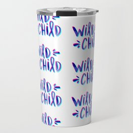 Wild Child – Magenta & Cyan Palette Travel Mug