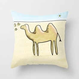Camelia Throw Pillow