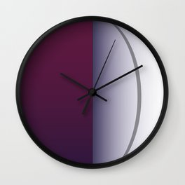 Tropical mangosten Wall Clock