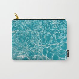Blue Summer Water Carry-All Pouch