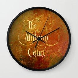 The Autumn Court Wall Clock