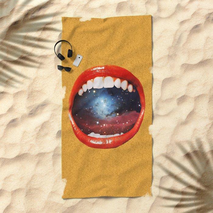 Taste Bud Regrowth Beach Towel