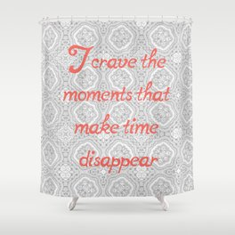 Disappearing Time Shower Curtain