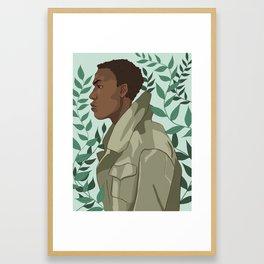 John Boyega Framed Art Print