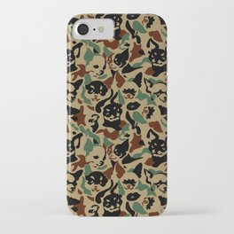 Chihuahua Camouflage iPhone Case