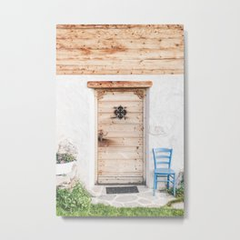 Dolomites IV [ South Tyrol, Italy ] Countryside House Farmer Door⎪Colorful travel photography Poster Metal Print