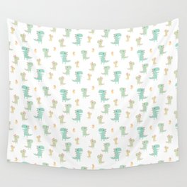 Evolution of a Chicken Pattern Wall Tapestry