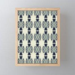 Nude  Collage Framed Mini Art Print
