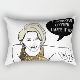 I made it nice Rectangular Pillow