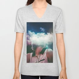 Distance On My Mind (The Clouded Diaries) Unisex V-Neck