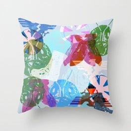 Kamen '71 Throw Pillow