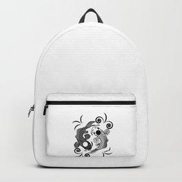 Koi Fish Karma Yin Yang Fate Spiritual Gift Backpack